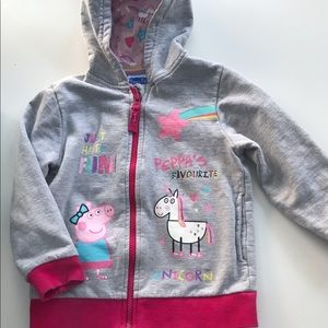 Authentic Peppa Pig Toddler Hoodie